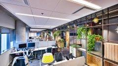 科技公司办公室装修方